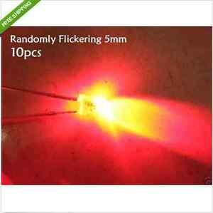 20p-Red-Randomly-Flickering-Flicker-Flash-Flashing-5mm-LED-candle-light-FR5