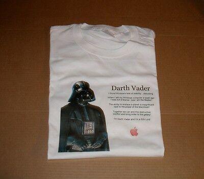 "Apple Computer Logo ""darth Vader"" T-shirt - Xl Elegant En Stevig Pakket"