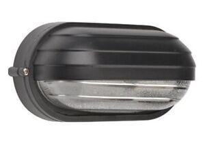 Plafoniere Da Esterno Con Palpebra : Plafoniera ovale nera con palpebra in alluminio lampadina e