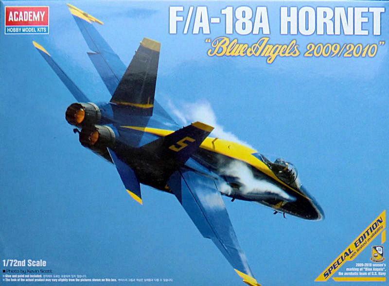ACADEMY 1:72 KIT F/A-18A HORNET BLUE ANGELS ANGELS ANGELS 2009/2010 EDIZIONE SPECIALE  12424 4cfeeb