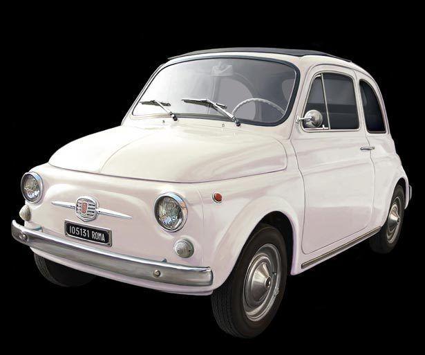Voiture Ancienne 1 12 Italeri 4703  Fiat 500F 1968