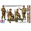 Tamiya-35337-British-Paratroopers-w-Small-Motorcycle-1-35 miniature 1