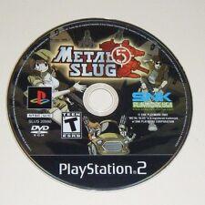 Metal Slug 5 GAME ONLY for your PLAYSTATION 2 PS2 system - VG - NOT METAL SLUG 4