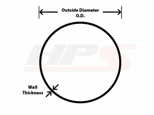 "HPS 2-1//4/"" OD 20 Degree Bend 16 Gauge Aluminum Tubing Elbow Pipe 3/"" CLR 57mm"