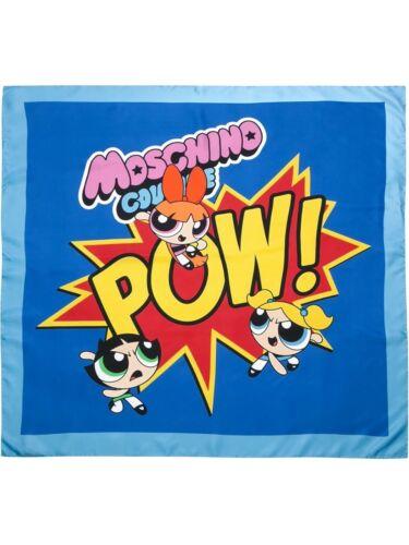 Moschino - Powerpuff Girls Silk Scarf - PERFECT M… - image 1