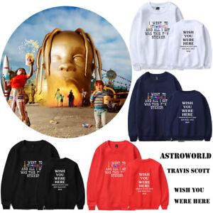 b88094d9c Travis Scott ASTROWORLD Concert WISH YOU WERE HERE Unisex Hoodie ...