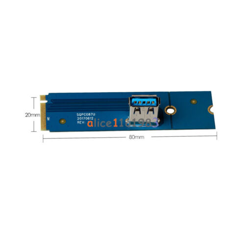 M.2 NGFF PCI-e X16 Slot for Data Mining Transfer Card Riser VGA Extension Line