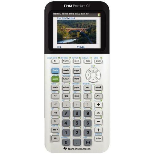 TEXAS INSTRUMENTS Calculatrice graphique TI-83 Premium CE