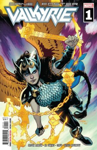 Jane Foster Valkyrie #1 Main Cover STOCK PHOTO Marvel 2019