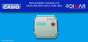 Replacement Original Vintage CASIO LCD G-7500, QW.2943. NOS