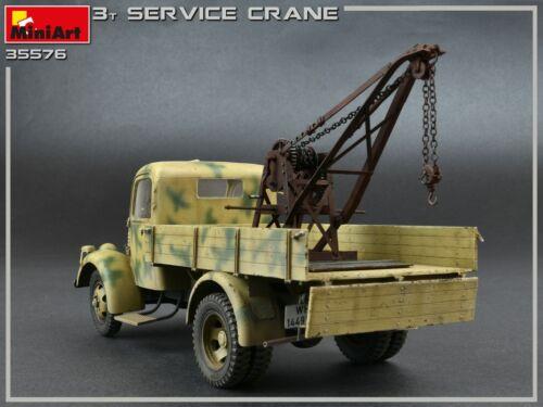 Details about  /MiniArt 3 Tonne Service Crane 1//35 New