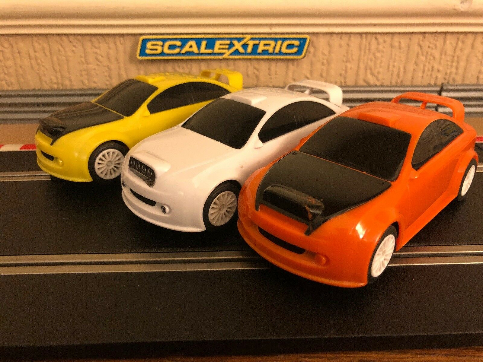 Scalextric Rally Cars x3 All Fully Serviced & New Braids Fitted VGC