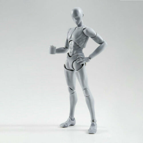 Drawing Figures for Artists Action Figure Model Human Mannequin Man WomanBDAU