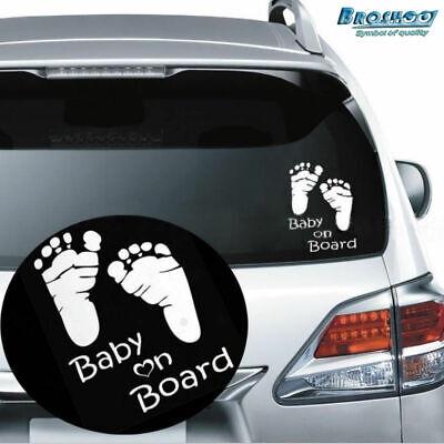 BABY ON BOARD CAR TRUCK WINDOW STICKER VINYL DECAL