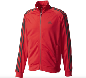 san francisco 582e8 06a0e Image is loading NEW-ADIDAS-MENS-ESSENTIAL-TRICOT-ATHLETIC-TRACK-JACKET-