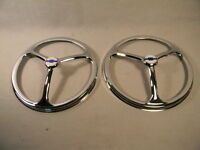 7 Genuine Chevrolet Chrome Headlight Covers Set Of 2 Classy