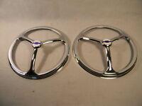 7 Genuine Chevrolet Chrome Headlight Covers Set Of 2 Classy
