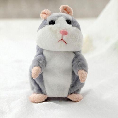 2017 Talking Hamster Mouse Pet Speak Sound Record Plush Toy Kid Modern Gift  Q99