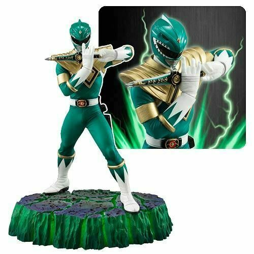 Power Rangers Green Ranger Figuarts Zero statue
