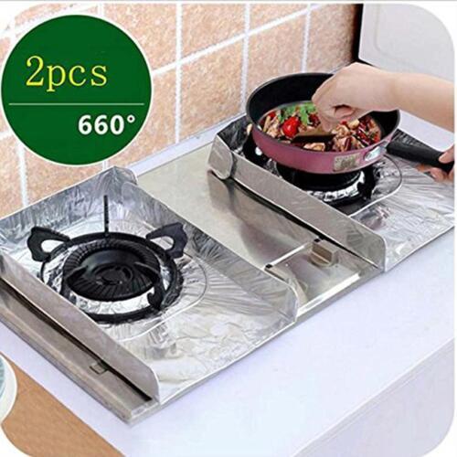 Reusable Protector Gas Range Liner Non Stick Gas Hob Stove Top Cooker Cover 8C