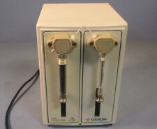 Gilson 402 Dual Syringe Pump 100 240 Volts Used