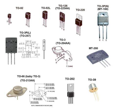 Lot of 5 Transistor MJ10009 A-B23