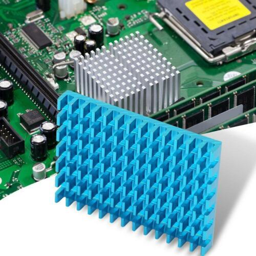 5-teilig Aluminium Kühlkörper Kühler Cooling Fin Chip Cooler 40*30*5mm Heatsink