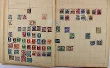 Briefmarken Album Victoria Ausgabe Sammlung Collection stamps teil vollständig