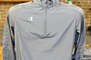 Champion-Boy-039-s-Youth-GREY-1-4-Zip-Jacket-Light-Weight-Athletic-Pullover-Shirt