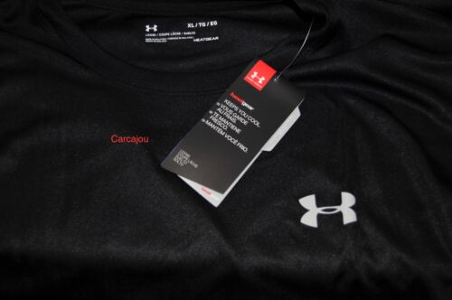 Men/'s Under Armour Tech Short Sleeve Shirt Black #1270502    Choose Your Size