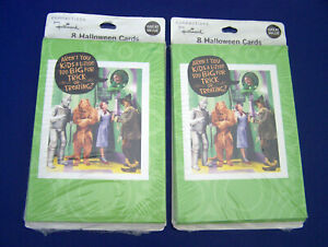 Details About NEW WIZARD OF OZ 2 Pkgs Of 8 Invitations HALLOWEEN PARTY Sealed TEEN Or ADULTS