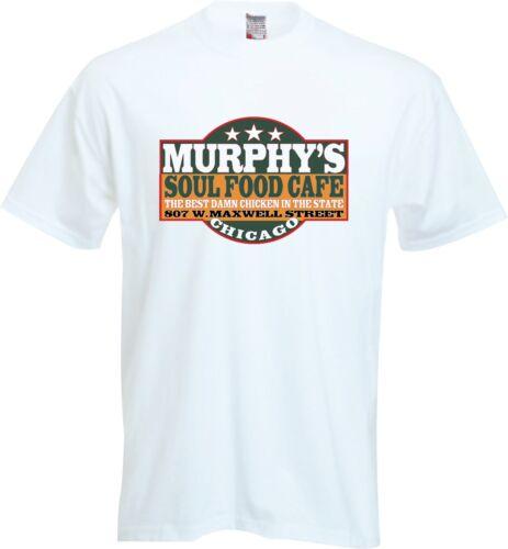 MURPHY/'s SOUL FOOD CAFE T SHIRT Matt Guitar Murphy and Blue Lou Back In the Band