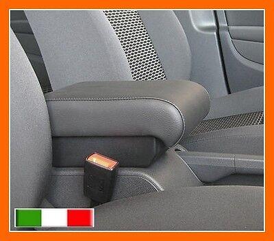 BRACCIOLO PREMIUM per Volkswagen Golf 5 ECO PELLE NERA - vedi tappeti