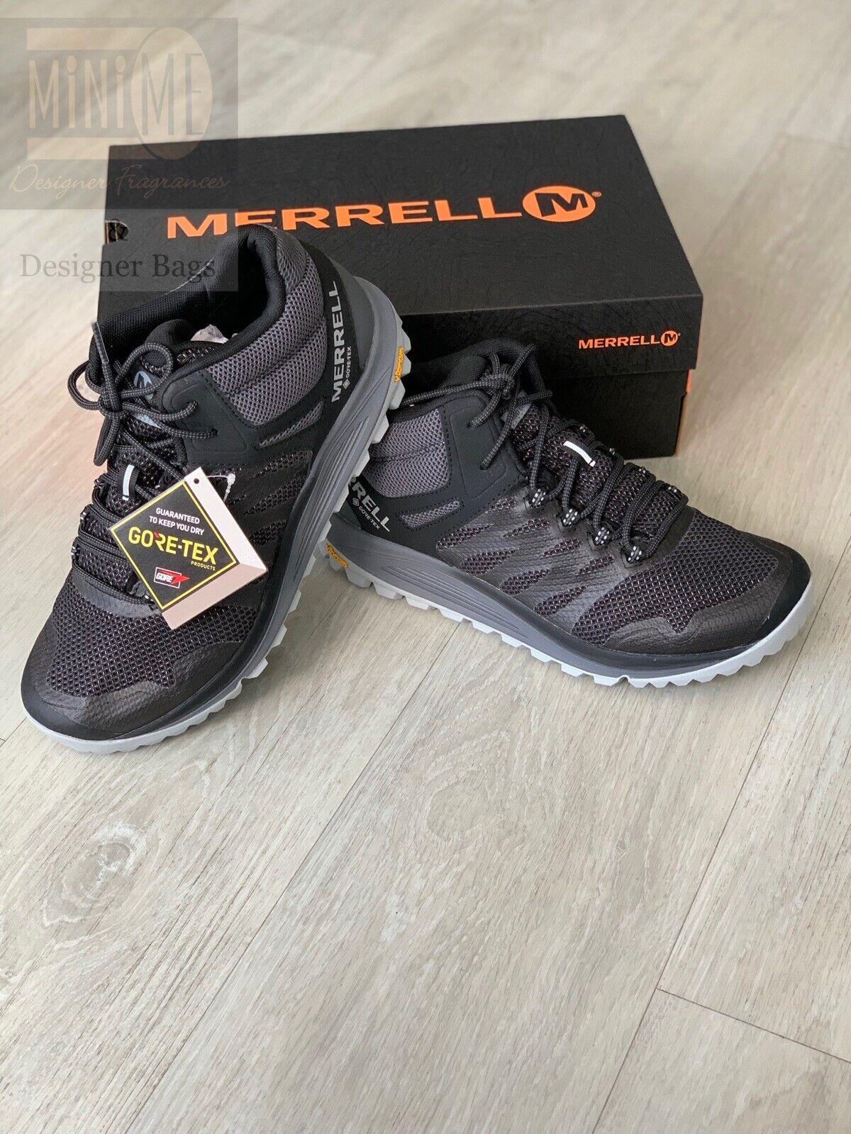 Merrell Nova 2 GTX Mens Waterproof Gore-Tex Walking Trainers Shoes Size U.K. 7.5