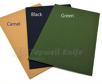 KYDEX PLASTIC SHEET K PLATE Black,Gray,Camel,Green #N4A