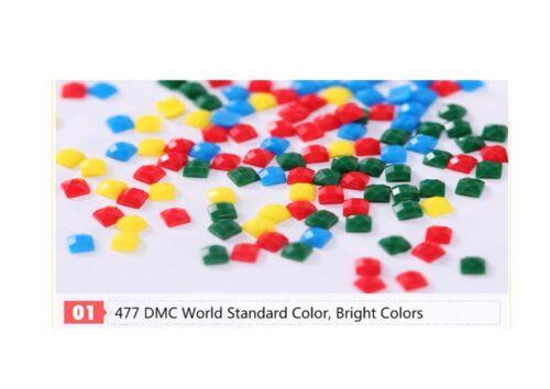 Cool K9 Diamante mosaico De Perro Kit De Pintura Pintar Por Números Kit 5D puntada cruzada Reino Unido