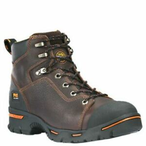 Soft Toe Work Boots Brown TB089631214