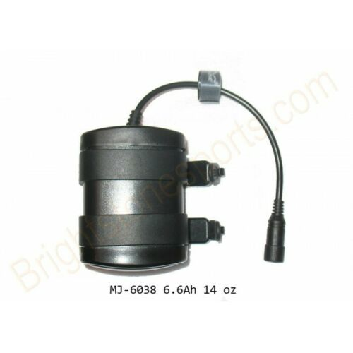 Magicshine 6.6Ah Round Plug Battery Pack f 808E 872 818 Bike Lights FREE Charger