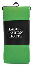 Adult Green Tight Ladies Xmas Fashion Tights  Elf  Christmas Fancy Dress Costume