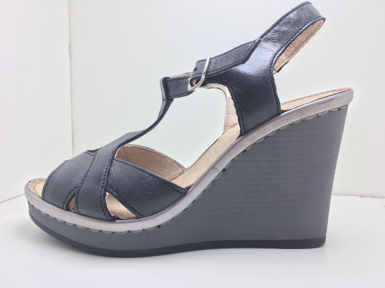 Schuhe Sandalen Sandalen Sandalen Kaufmann von Blaumen Frauen Schwarz 32fd7b