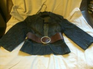 Veste en jean très chic Naf T 38