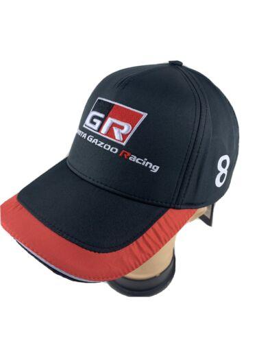 Toyota Le Mans Gazoo 24h  Racing Cap Baseballcap Schildmütze Größe Alonso  Nr 8