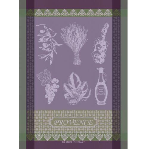 Provence nouveau lavande Français Jacquard cuisine thé//SERVIETTE GARNIER THIEBAUT