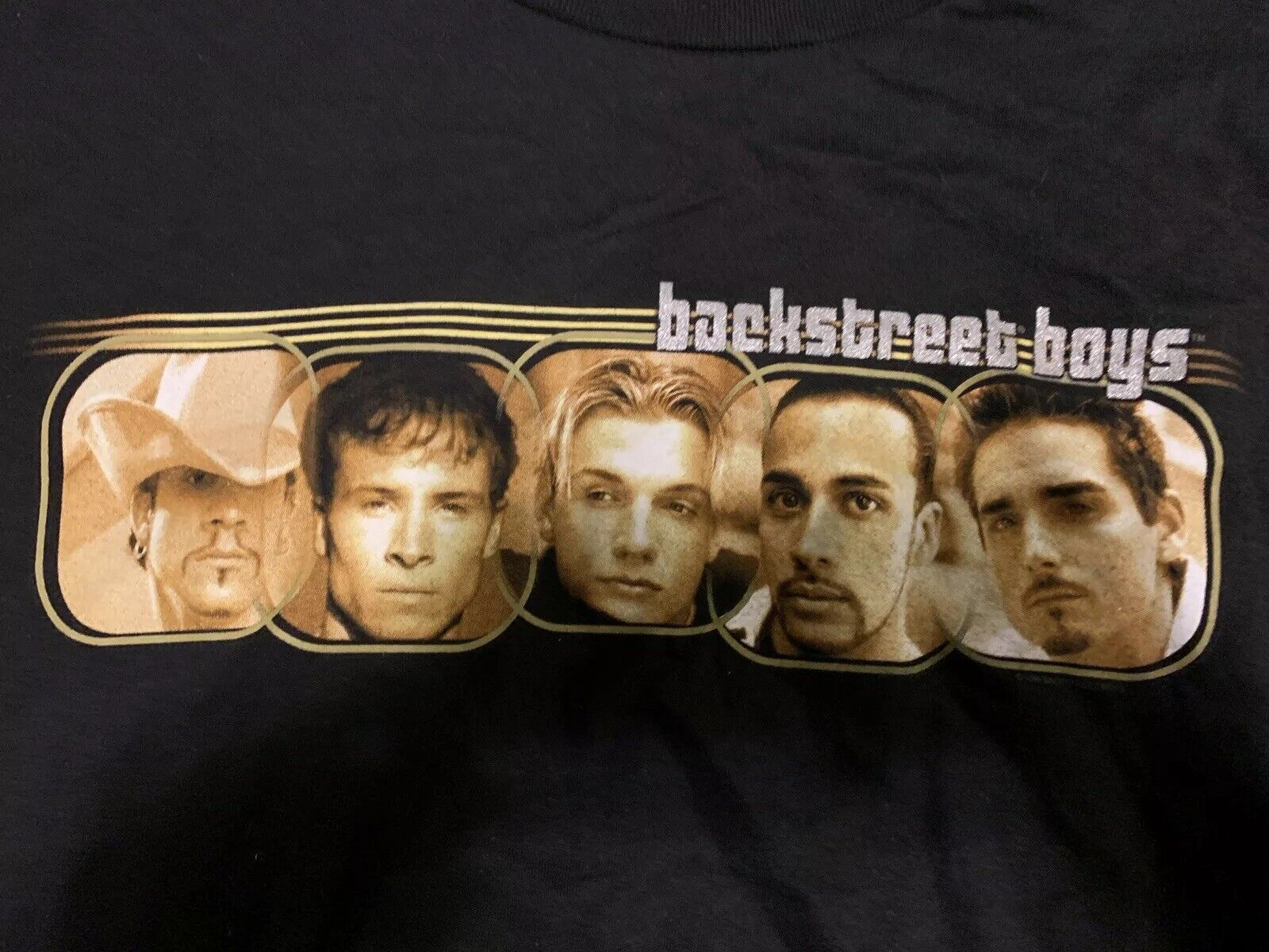 Rare Vintage Backstreet Boys Into The Millennium Tour Long Sleeve Xl TShirt 1999
