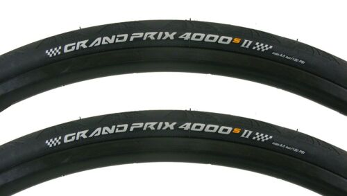 PAIR Continental Grand Prix GP 4000s II 700x25 Folding Road Bike GP4000 Tires