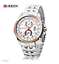 Curren-8082D-1-Silver-Gold-Silver-Stainless-Steel-Watch thumbnail 2