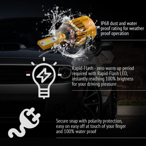XENTRONIC LED HID Headlight Conversion kit H11 6000K for 2011-2016 Honda Odyssey
