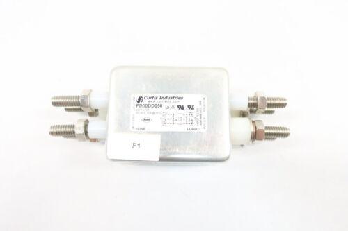 Curtis Industries FD00DD050 Emi Filter 80v-dc 50a Amp