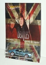 HOT WHEELS CUSTOMS 67 CAMARO  THE BEATLES TRIBUTE EDITION REAL RIDERS NEW
