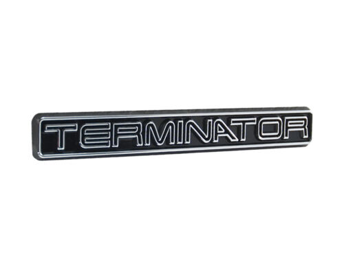 "2003-2004 Mustang Cobra SVT Chrome Black Terminator Fender Trunk Dash 5/"" Emblem"